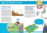 """Les interventions abordent également le rôle central de la ressource """"eau"""" dans les activités humaines."""