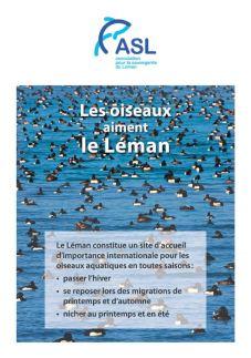 Les oiseaux aiment le Léman